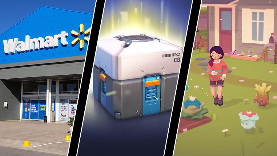 Walmart tar bort våldsamma spel, konsolspel ska ha lootlåde-odds – och Ooblets-utvecklarna trakasserade
