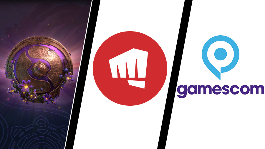The International till Sverige, Riot förlikar i trakasseri-mål – och best of Gamescom