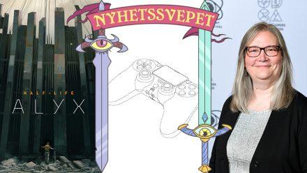 Half-Life: Alyx släpps i mars, så kan Playstation 5-kontrollen se ut – och Amy Hennig är tillbaka