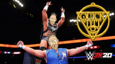 Är WWE 2K20 lika medelmåttigt som vanligt? (PS4)