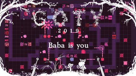 GOTY 2019 #1: Baba is You