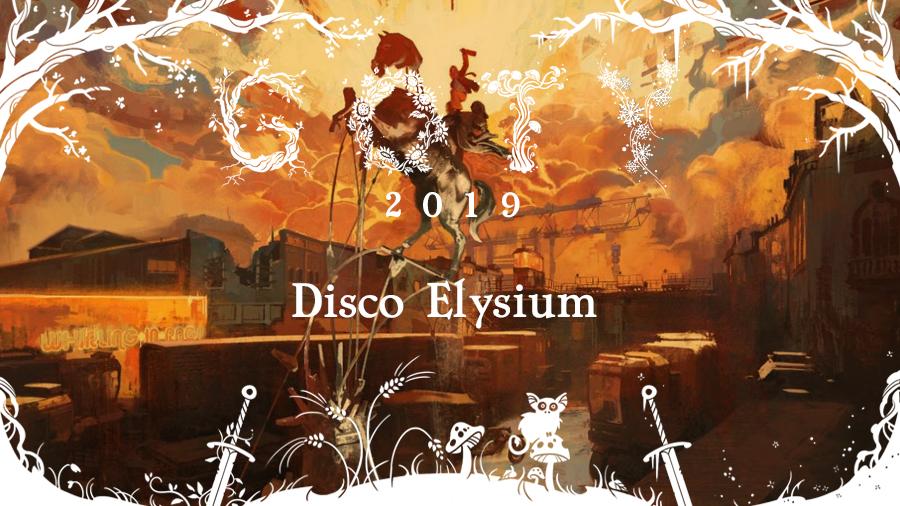 GOTY 2019 #3: Disco Elysium