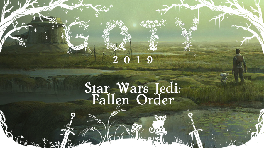 GOTY 2019 #8: Star Wars Jedi: Fallen Order