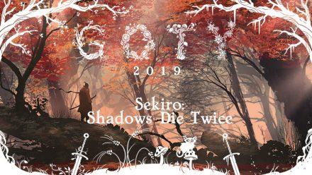 GOTY 2019 #4: Sekiro: Shadows Die Twice