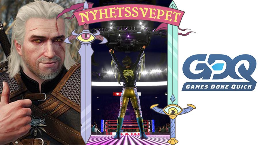 The Witcher-rekord, WWE2K20 klarade inte 2020 – och Awesome Games Done Quick är igång