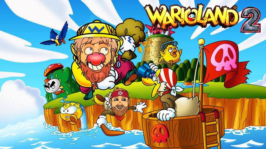 Stream: Wario Land 2 med Ludde och Glenn