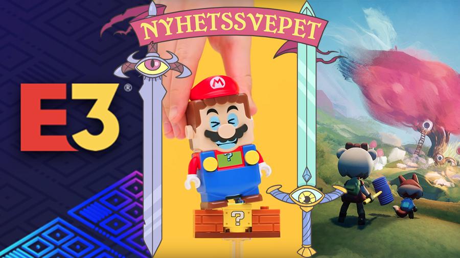E3 ställs in, Super Mario blir Lego – och Dreams-skapelser kan användas utanför spelet