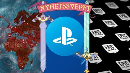 Plague Inc. räddar världen, PSN-hastigheten sänks – och Epic blir spelutgivare