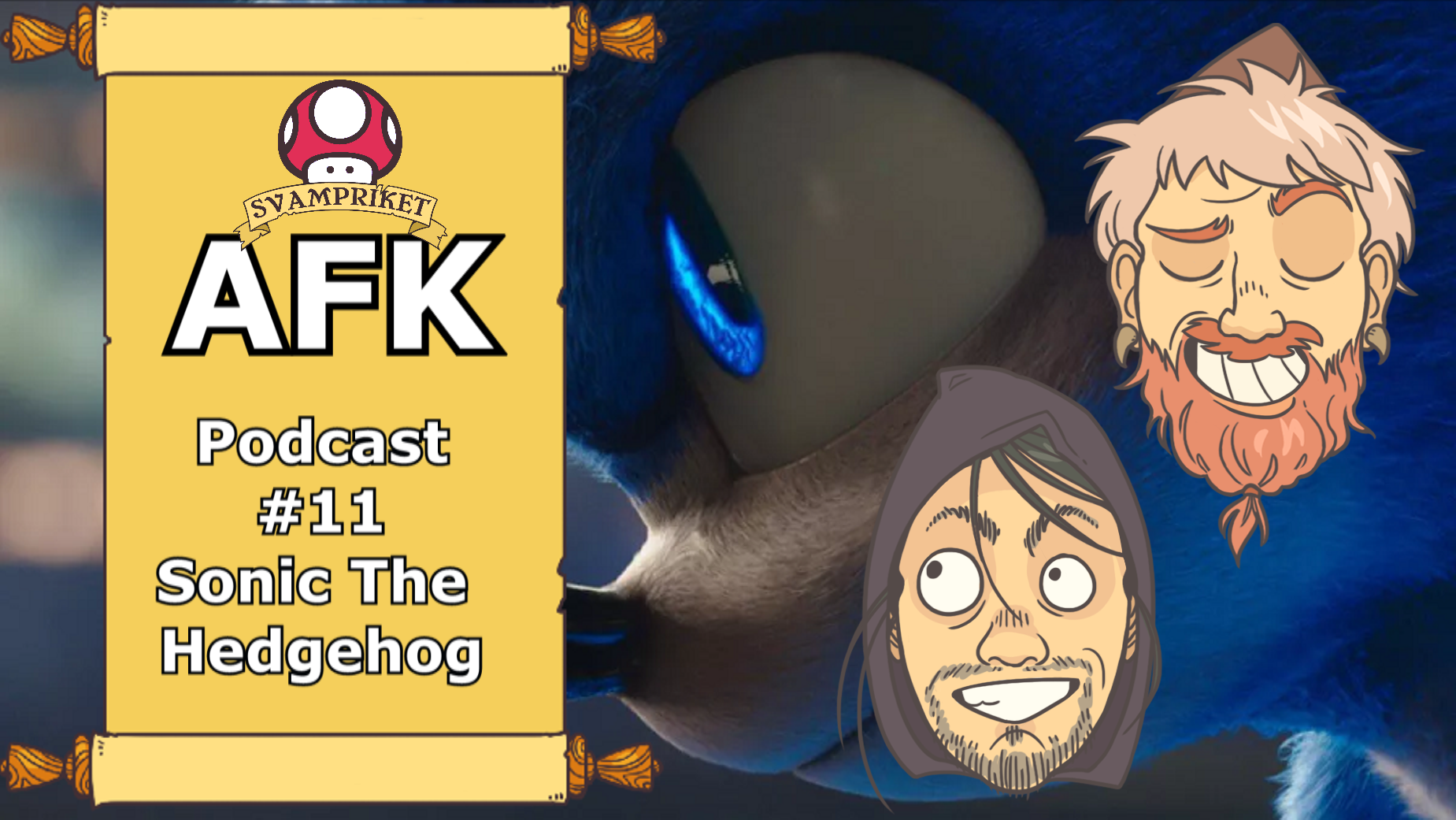 Adelns filmklubb #12 – Sonic The Hedgehog
