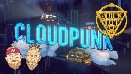 Niklas och Glenn kollar in Cloudpunk
