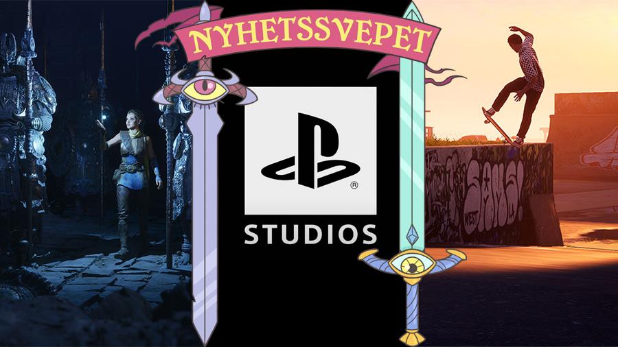 Unreal Engine 5 visades på Playstation 5, Sony startar Playstation Studios – och Tony Hawk kommer tillbaka