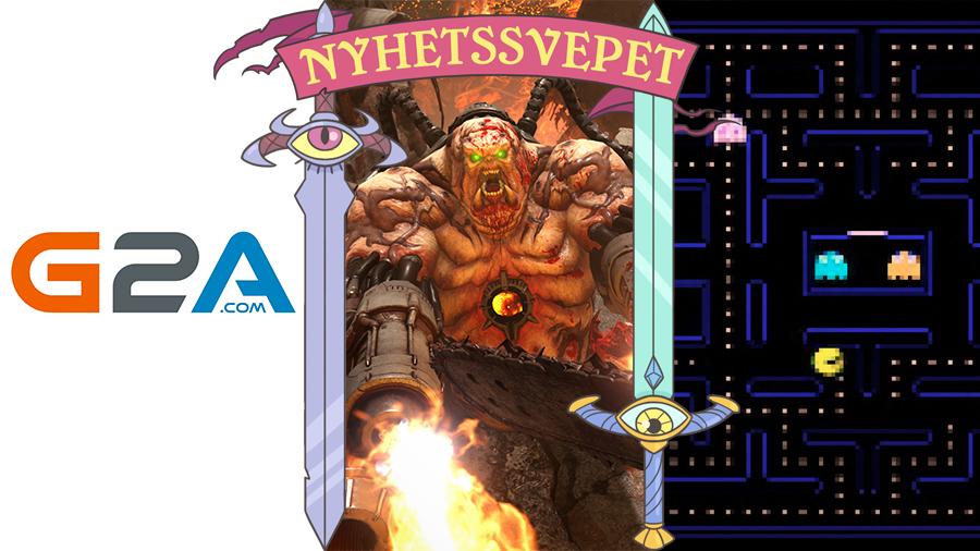 G2A sålde stulna nycklar, Doom Eternal slopar kritiserat fuskskydd – och AI återskapar Pac-Man
