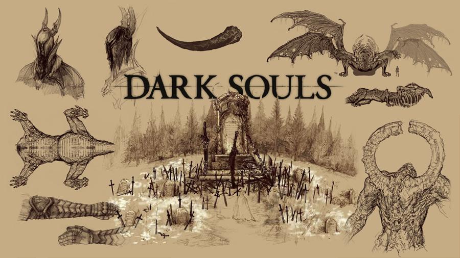 Svamppod hjärta Dark Souls