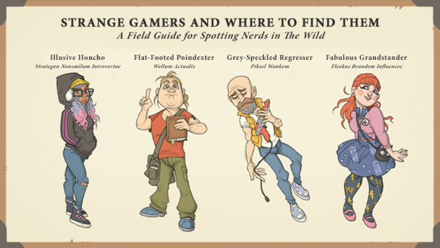 Strange Gamers and Where to Find Them