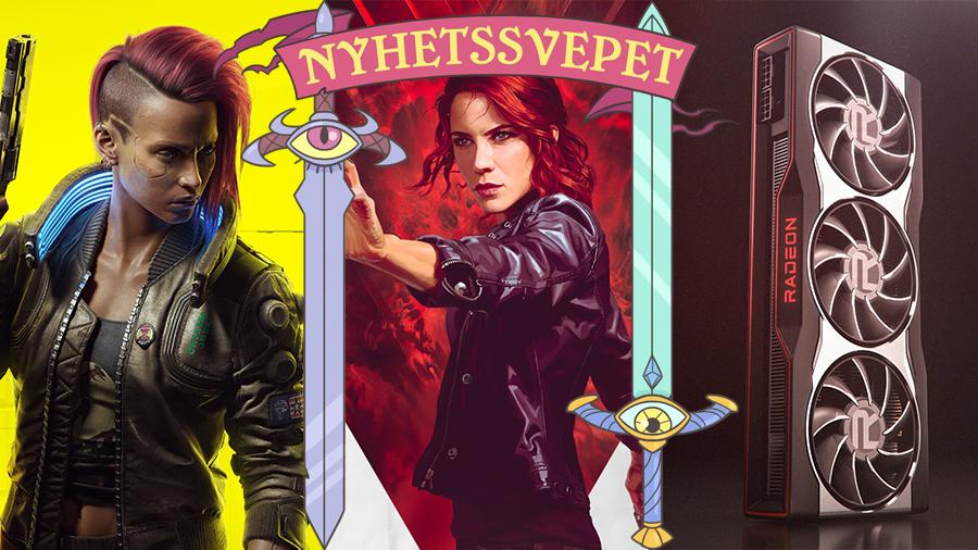 Mordhot efter Cyberpunk-försening, fler streamade spel till Switch – och AMD släpper nya grafikkort