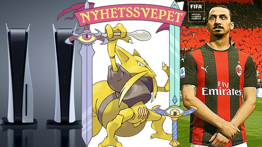 Bästa Playstation-släppet någonsin, Zlatan ansiktsbråkar med EA – och Uri Geller ber Pokémon om ursäkt