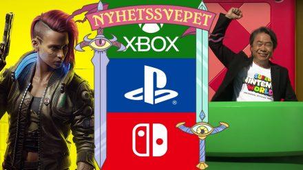 Playstation Store dumpar Cyberpunk 2077, konsoljättar samarbetar för säkerhet – Miyamoto visar Nintendo-nöjesparken