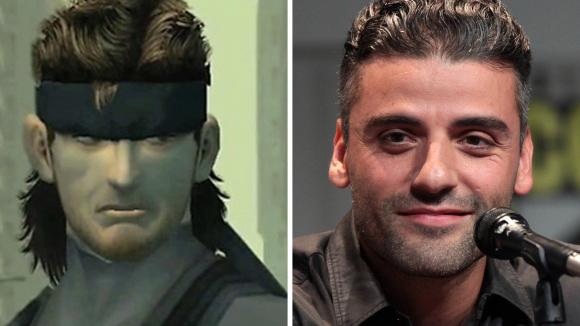 Solid Snake Oscar Isaac