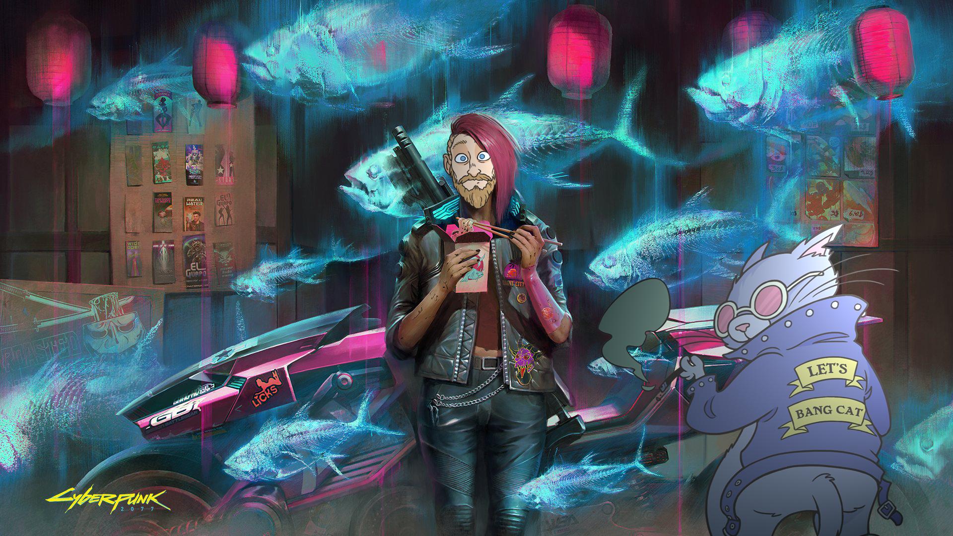 Cyberpunk 2077 är en containerbrand – och jag kan inte sluta spela