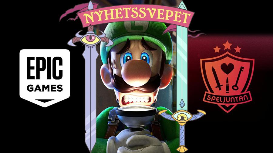 Epic flyttar till köpcentrum, Nintendo köper Next Level Games – och P3 Spel-gänget startar ny podd