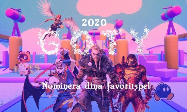 Nomineringar till årets spel 2020