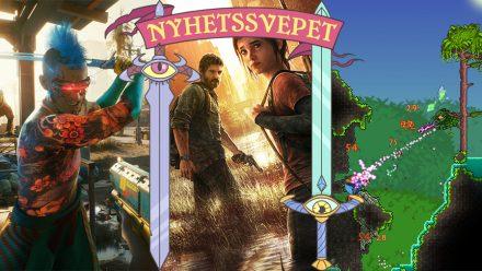 Nyhetssvepet vecka 7: Cyberpunk-källkod såld, The Last of Us har skådisar och inget Terraria till Stadia