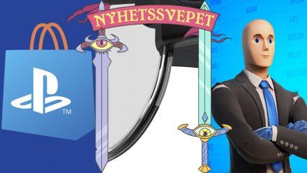 Nyhetssvepet vecka 14: Playstation-butiker stängs, Pokémon Go-glasögon, Stonks i Fortnite