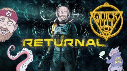 Kladdet är konstant i Returnal (PS5)