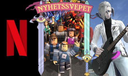 Nyhetssvepet vecka 21: Spel på Netflix, Roblox inte längre ett spel, Final Fantasy 14-gitarr