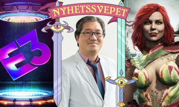 """Nyhetssvepet vecka 23: """"E3""""-schema, Sonics skapare lämnar, Injustice Pride-ursäkt"""