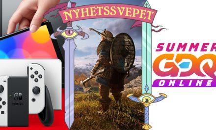 Nyhetssvepet vecka 28: Ny Switch, Assassin's Creed Infinity, 25 Summer Games Done Quick-miljoner