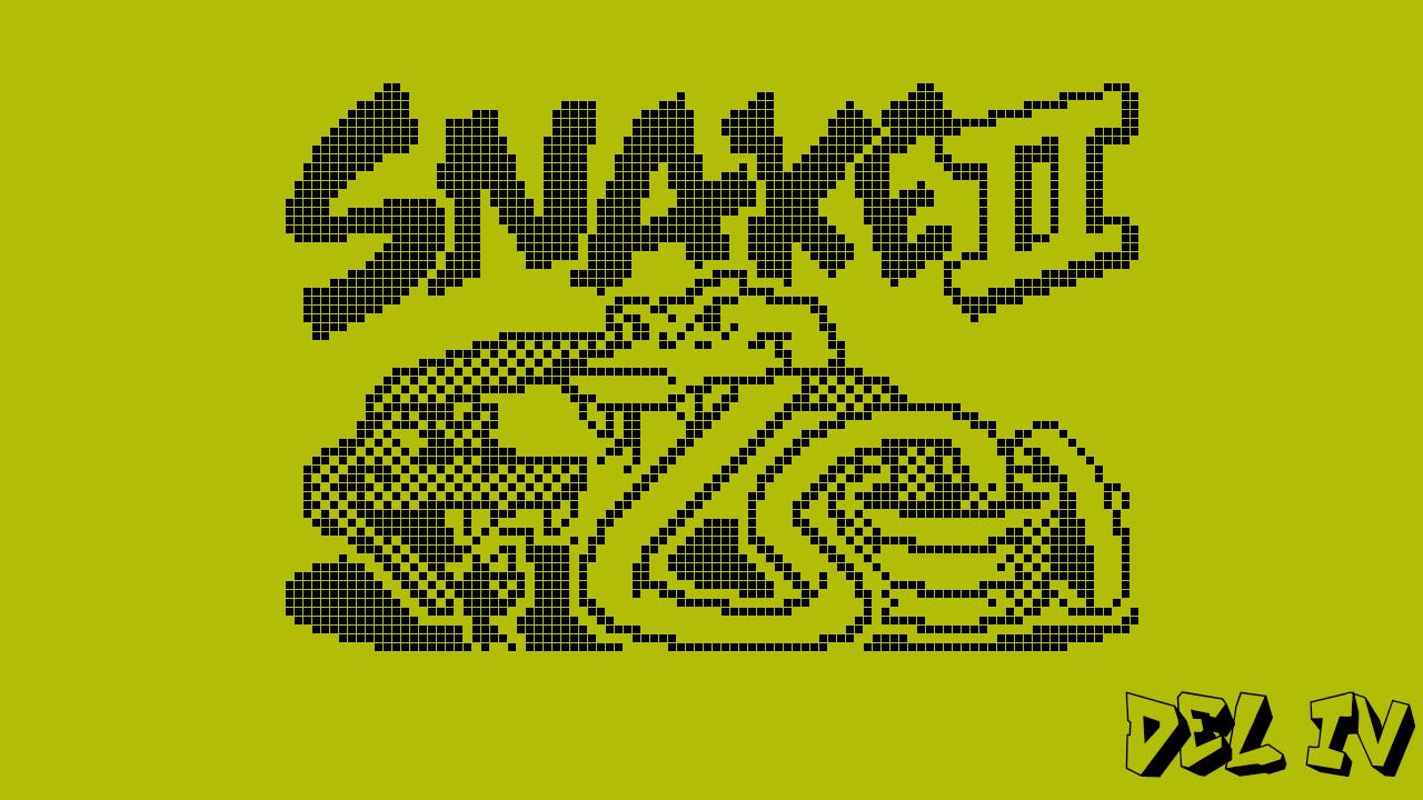 Den där gången jag utvecklade Snake 2: del 4
