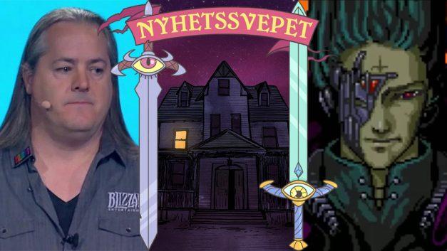 Nyhetssvepet vecka 32: Chefer lämnar Blizzard, Gaynor lämnar chefsposition, Embracer shoppar studior