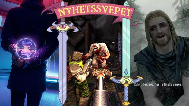 Nyhetssvepet vecka 34: Among Us-kritik mot Fortnite, Quake-remaster, bi förstörde Skyrim