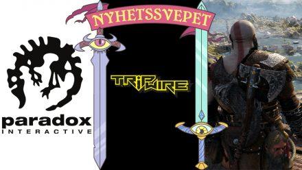 Nyhetssvepet vecka 37: Paradox-problem, Tripwire-kontrovers, Playstation-trailers