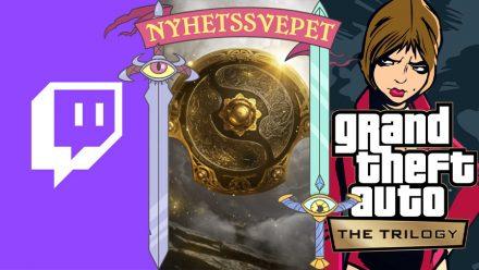 Nyhetsvepet vecka 41: Twitch-hack, The International publiklös, GTA-trilogi remastras