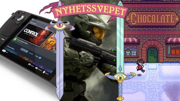 Nyhetssvepet vecka 43: Steam Deck-kompatibilitet, Halo-skapares nya studio, Stardew Valley-skaparens chokladspel